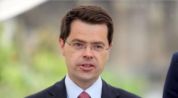 James Brokenshire said an extra £90 million has been allocated to health and education services in Northern Ireland