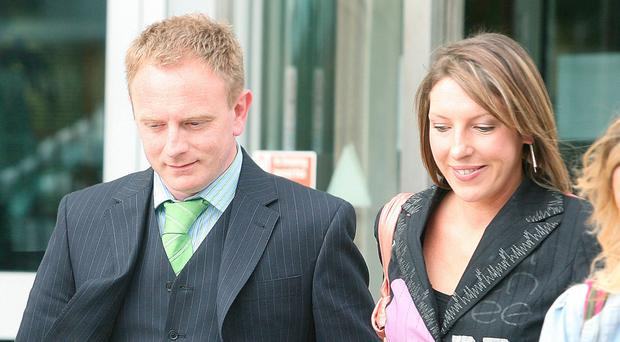Alexandra Ford with her husband Mark Butler, also known as Mark McCrory
