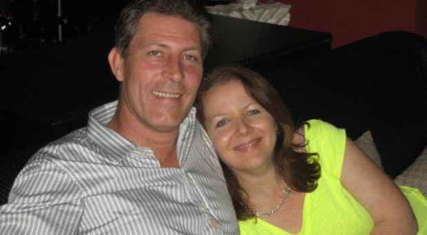 Gary Donaghy with wife Susan