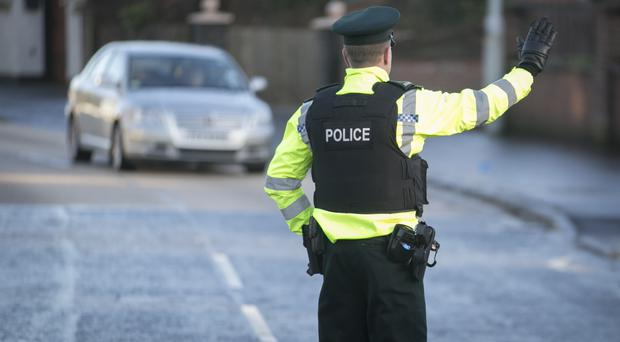 A man walking down Henry Place in Belfast was shot in both legs, the PSNI said