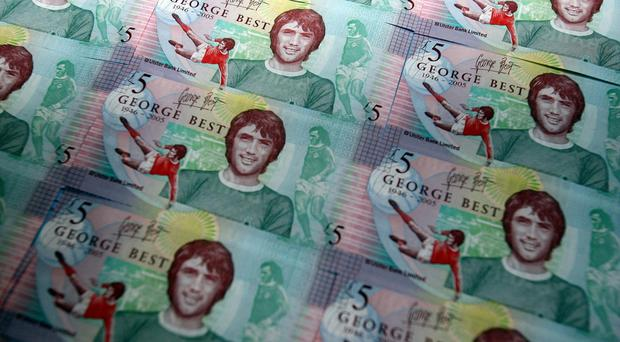 George Best was among those appearing on earlier banknotes