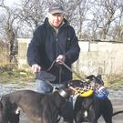Veteran greyhound trainer Geordie Watson from Shrigley, Co Down