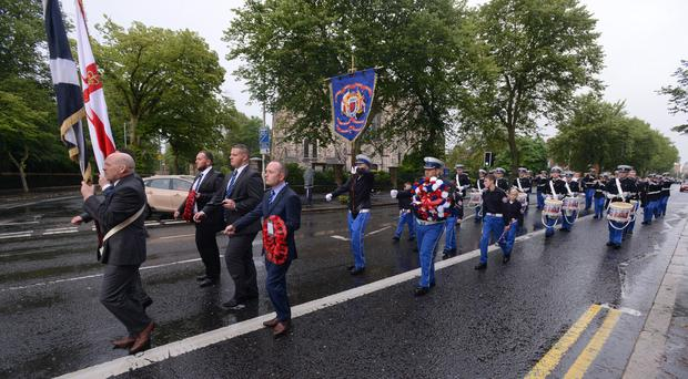 Restrictions have been placed on this year's parade that will remember two UDA men killed by the IRA.
