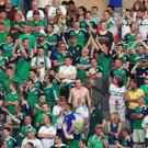 The travelling Northern Ireland fans have been warned to expect high prices.