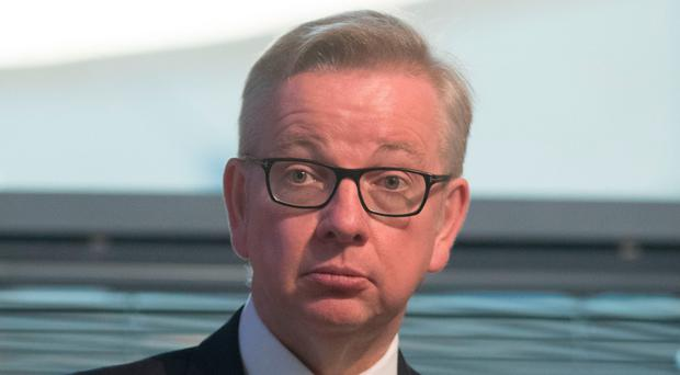 Standards vow: Michael Gove