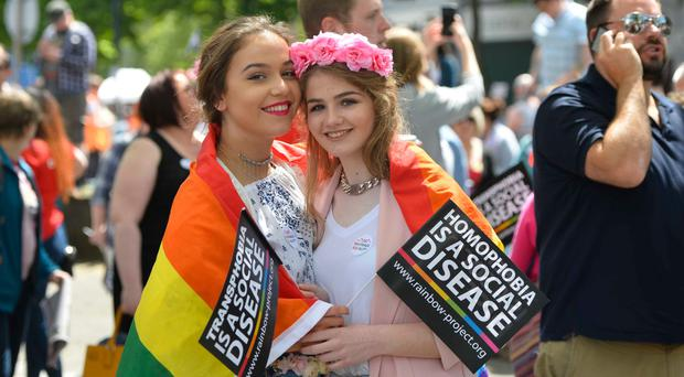 44% of DUP voters are in favour of same-sex marriage — 42% were opposed