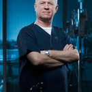 Derek Thompson as Charlie Fairhead in BBC hospital drama Casualty