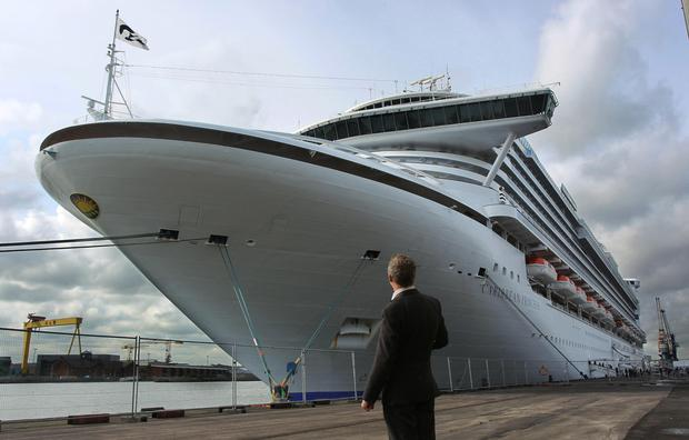 Belfast Cruise Ship Boom Take A Look Inside Luxury Liner During - Cruise ship ireland