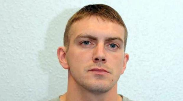 Royal Marine Ciaran Maxwell from Larne who was jailed for 18 years for his role as a dissident bomb-maker
