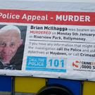Brian McIlhagga was killed in Ballymoney in 2015 (PSNI/PA)