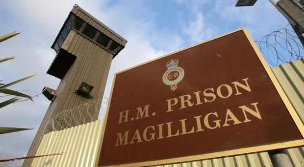 The man was found dead at Magilligan Prison