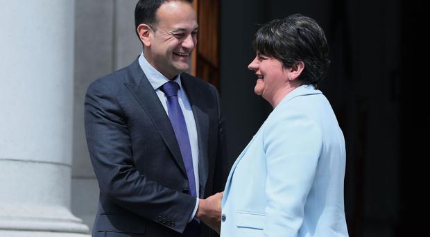 Arlene Foster and Leo Varadkar discussed the Kingsmill inquest during a meeting in Belfast