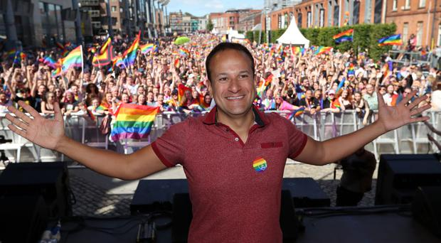 Leo Varadkar is in Belfast with 8,000 expected to march in the Pride parade