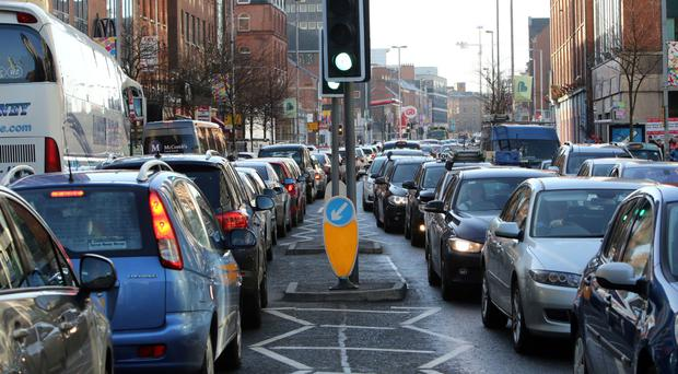It is hoped new bus lanes in Belfast will encourage the use of public transport