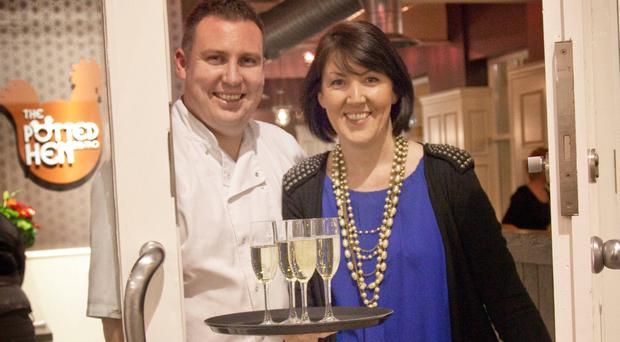Dermot and Catherine Regan, former owners of the Potted Hen