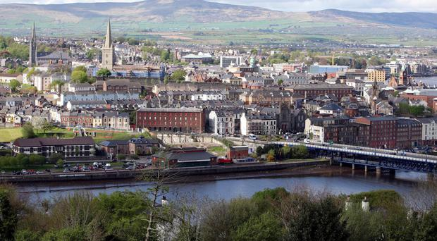 The body was retrieved from the River Foyle