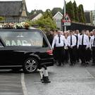 The funeral of Kevin Murray took place in Strabane at the weekend