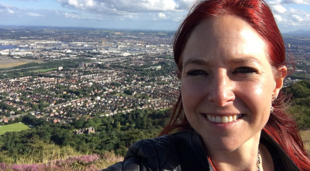 Alice Roberts on Cave Hill