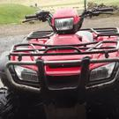 Quad bikes were the most targeted item by thieves