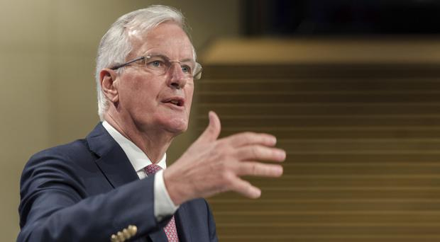 EU chief Brexit negotiator Michel Barnier.