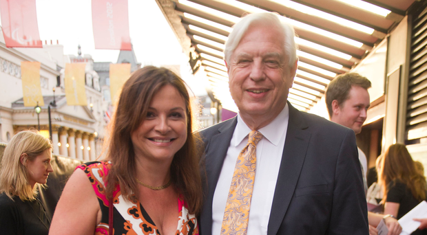 John Simpson with his wife Dee Kruger