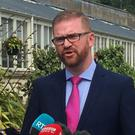 Senior DUP member Simon Hamilton said the executive should be formed immediately with a parallel process set up to deal with the unresolved issues