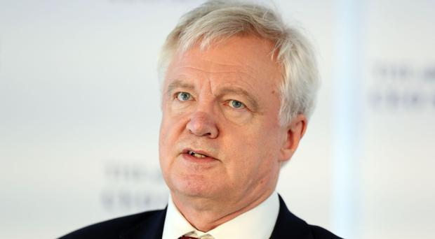 Brexit Secretary David Davis is pressing for early discussion on the arrangements