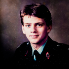 Heath Taylor as a young RUC officer