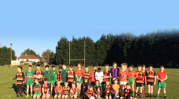 Lurgan rugby club and St Peter's Gaelic Athletic Club