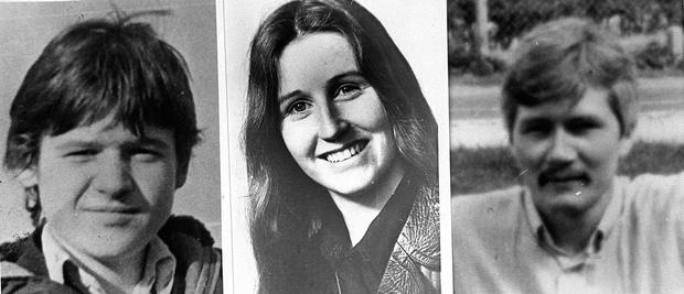 Sean Savage, Mairead Farrell and Danny McCann, the three IRA members shot dead in Gibraltar