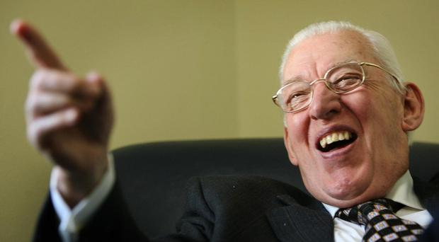 Former leader of the Democratic Unionist Party, the Rev Ian Paisley.
