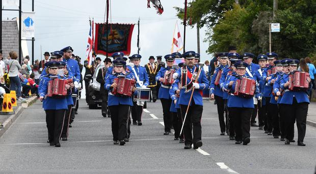 The Royal Black Institution parade takes place in Comber