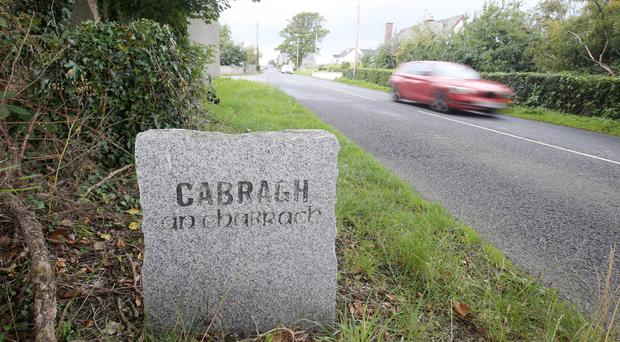 Cabra in Co Down, where the fatal crash took place on Saturday