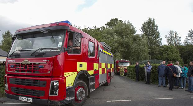 The current target is that three-quarters of high-risk house fires are reached within six minutes