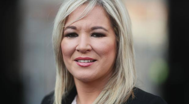 Sinn Fein's leader in Northern Ireland Michelle O'Neill has asserted that the Irish government are