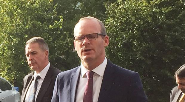 Foreign affairs minister Simon Coveney said all material on the Kingsmill killings had been handed over