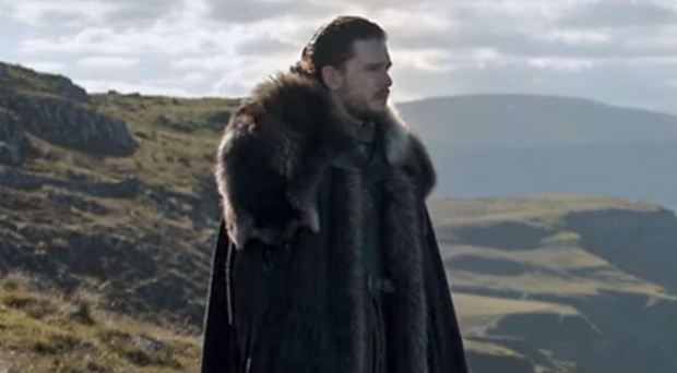 A scene from Season 7 of Game Of Thrones filmed at Fairhead