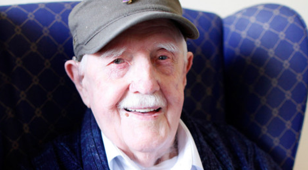 Norman Dickson (96) at his nursing home in Portaferry