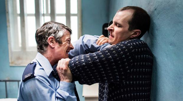 Tom Vaughan-Lawlor and Barry Ward in Maze