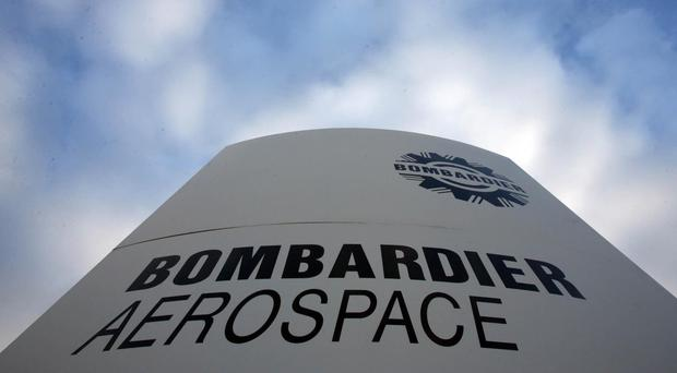 The Shorts Bombardier factory in Belfast.
