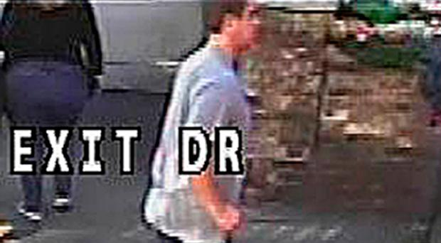 CCTV image of the jogger police want to speak to