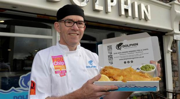 Malachy Mallon, owner of The Dolphin Takeaway