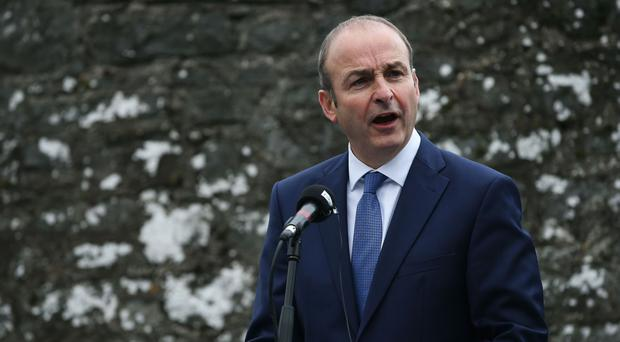 Micheal Martin said Brexit threatens to cause 'historic damage'