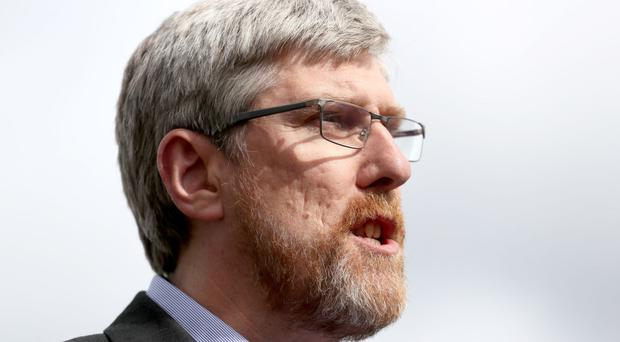 John O'Dowd said Arlene Foster was living in a fools' paradise if she thought powersharing could be restored at Stormont without progress on the language question