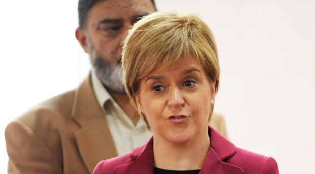 Scotland First Minister Nicola Sturgeon