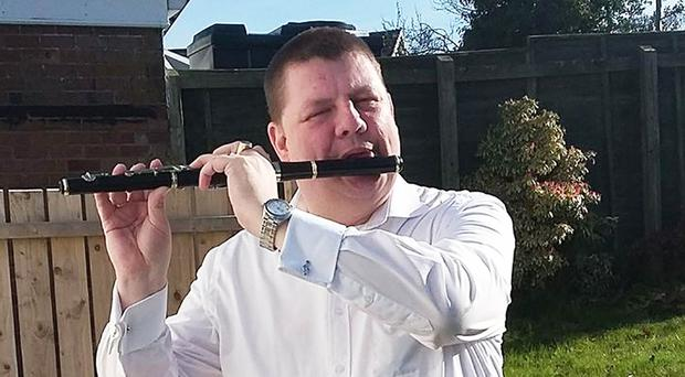 Marquez Glenny was renowned for flute-playing