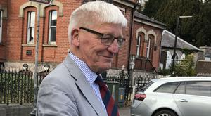 Dennis Hutchings, pictured, faces a hearing on an attempted murder charge linked to the shooting of John Pat Cunningham who had learning difficulties
