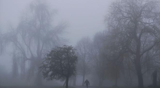Yellow Weather warning of Fog for Northern Ireland