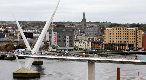 Londonderry (pictured) and Belfast announced this year that they would be entering a joint bid in an attempt to be named European Capital of Culture