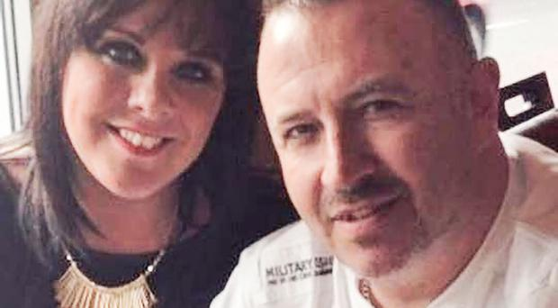 Donna and Stephen Green, parents of Tiernan Green (below) and (left) Donna's video message